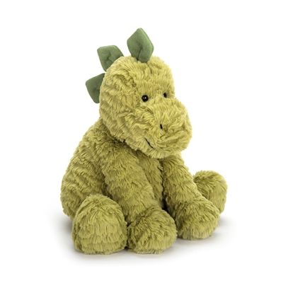 Fuddlewuddle Dino is a super soft apple green Dinosaur by Jellycat. £17.95 Order now at https://www.sayitbaby.co.uk/Jellycat-Fuddlewuddle-Dino-p/fw6dn.htm