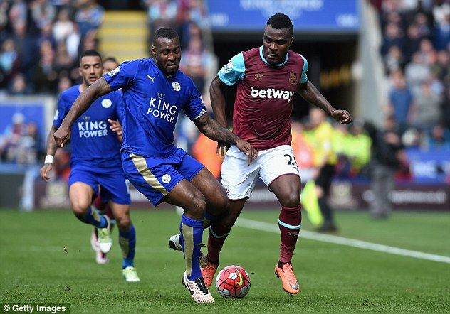 Jamie Vardy the hero and the villain as striker sees red and Leicester City and West Ham United share thrilling 2-2 draw at the King Power Stadium - PLAYER RATINGS