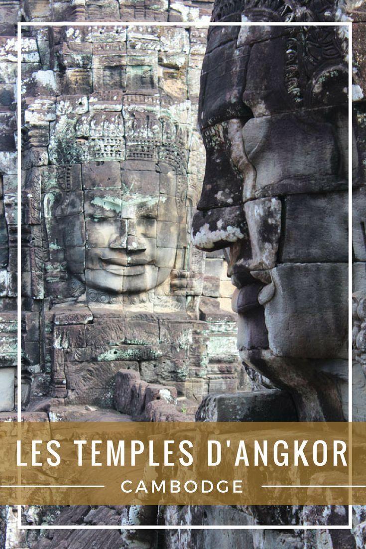 Série photos et liens utiles pour préparer une visite des temples d'Angkor au Cambodge.