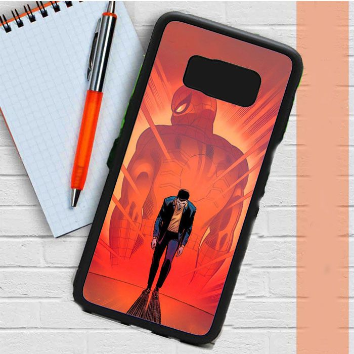 Spiderman Marvel Comic Samsung Galaxy S8 Plus Case Casefreed