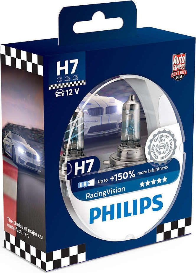 Philips Racing Vision H7 150 12v 55w 12972rvs2 Cool Things To Buy Philips Racing