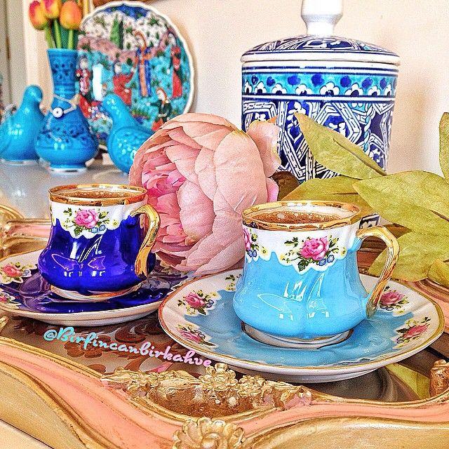 bir fincan bir kahve pe instagram gunun ilk kahvesi o yuzden ikisi de benim birini carcabuk ictim bile hava serin ya bu fi tea cups afternoon tea tea
