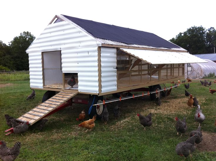 76 best images about chicken coops on pinterest best for Mobile hen house plans