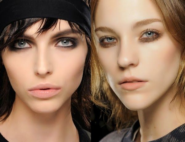 Blog Turuncu Kasa - Kozmetik - Makyaj - Sağlık - Anne ve Bebek Ürünleri Üzerine Yazılar: 2013-2014 Kış Makyaj Trendleri