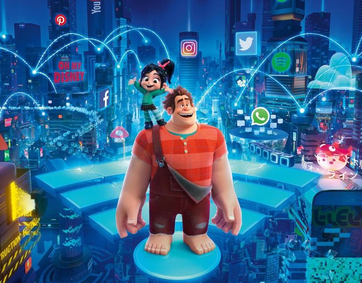 Oops Someone at Disney thought 'Ralph Breaks the