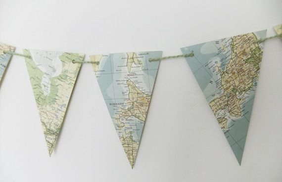 Perfect for a travel themed party OR vintage party!