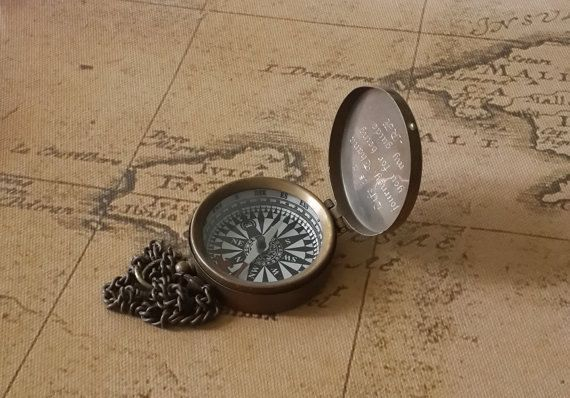 Compass, Working Compass, Personalized Compass, Groomsmen Gifts, Christmas Gifts