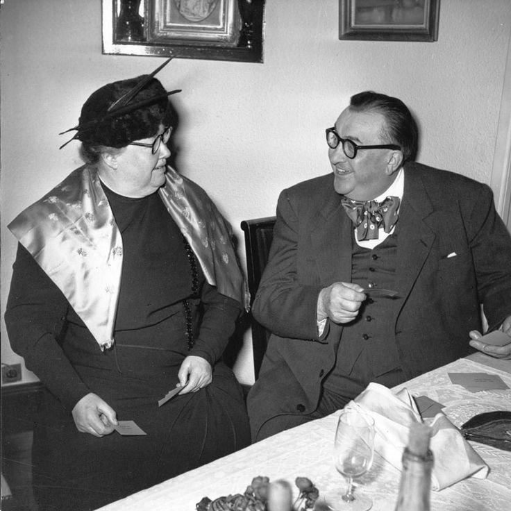 Eugénie Brazier et Fernand Point © Page d'Écriture