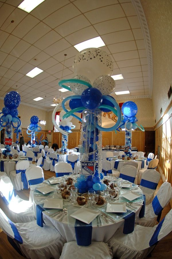 Bar Mitzvah Table Decorations Images - Table Decoration Ideas