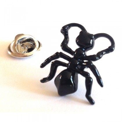 Black Ant, insect Lapel Pin badge Price: 3.99 GBP