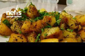 Sarımsaklı,Soğanlı,Patates Tava - Nefis Yemek Tarifleri
