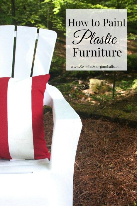 Best 25 Painting Plastic Furniture Ideas On Pinterest