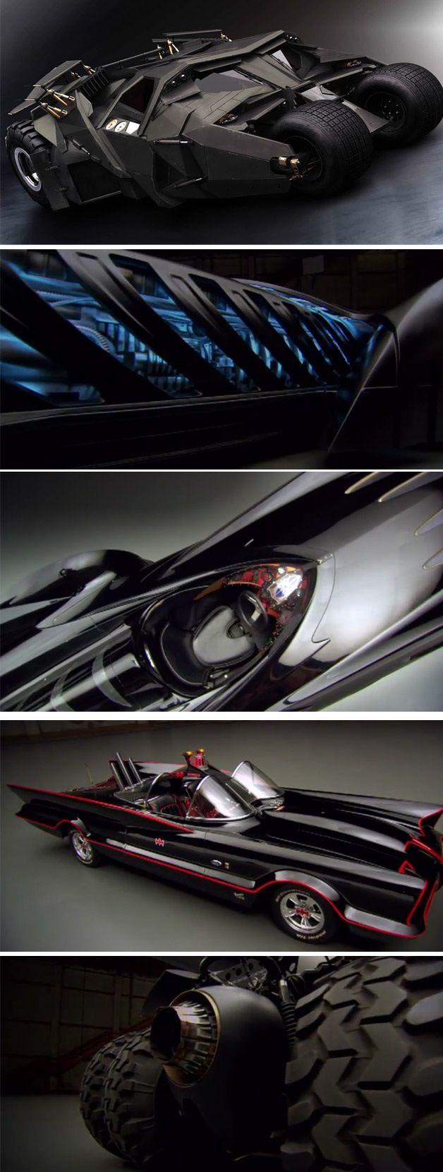 The bat mobiles