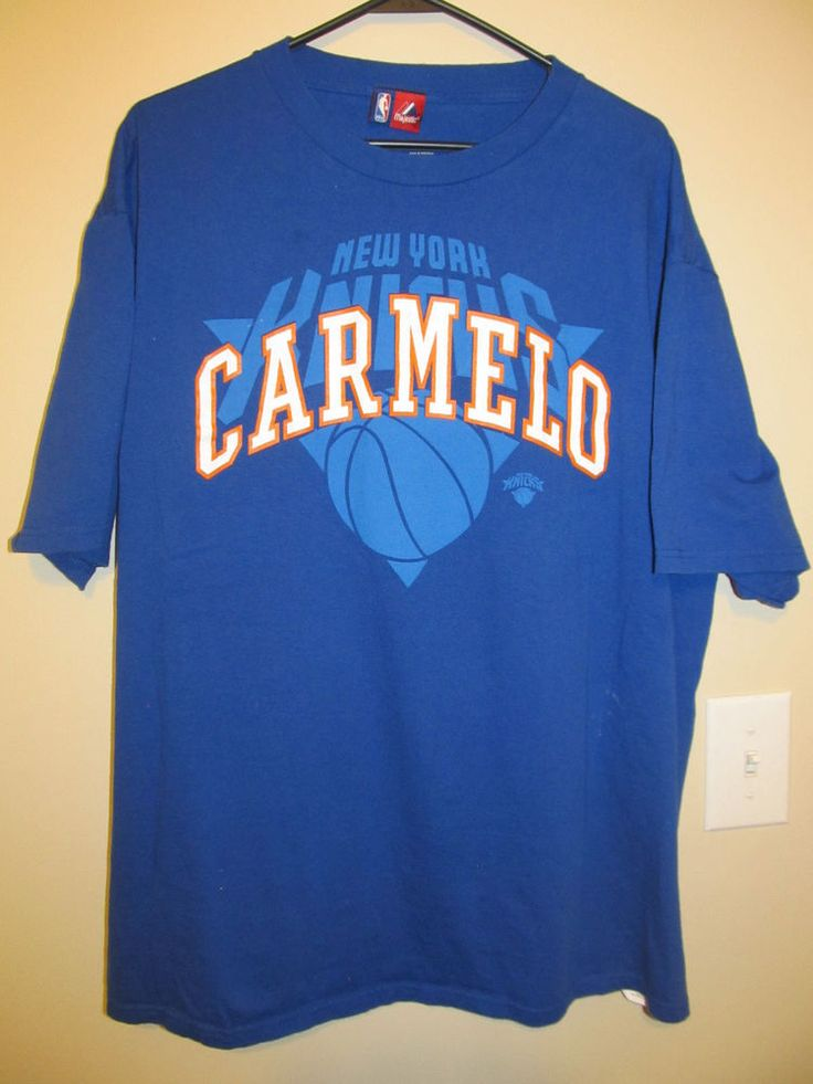 Carmelo Anthony - New York Knicks shirt - Majestic Adult XL #Majestic #NewYorkKnicks