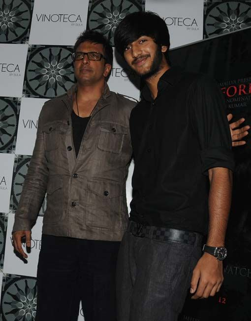 Javed Jaffrey and son