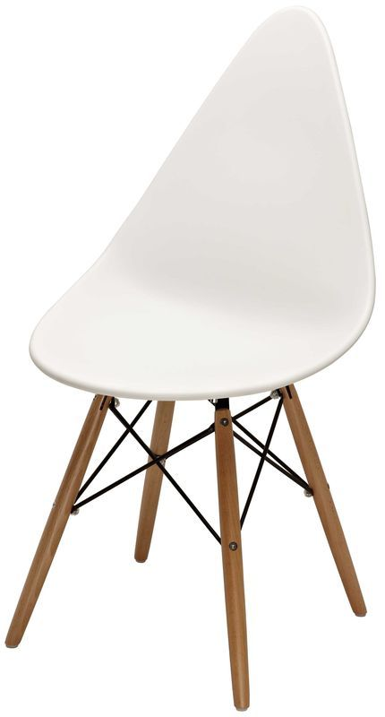 Стул Оттава белый пластик стулья из пластика пластиковые стулья 4ugla.com.ua