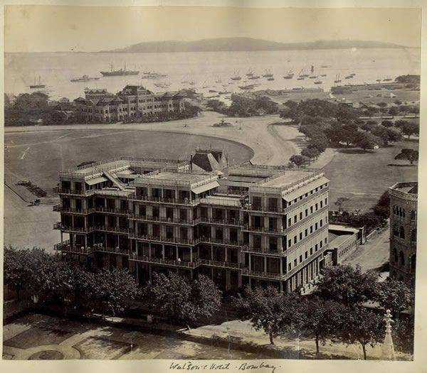 Watson's Hotel, 1880 - Old And Vintage Photographs Of Mumbai Bombay  Page 2 of 2  Best of Web Shrine