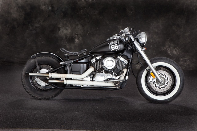 Yamaha XS650 Bobber Route 66 Motorcycle - I want to ride this.