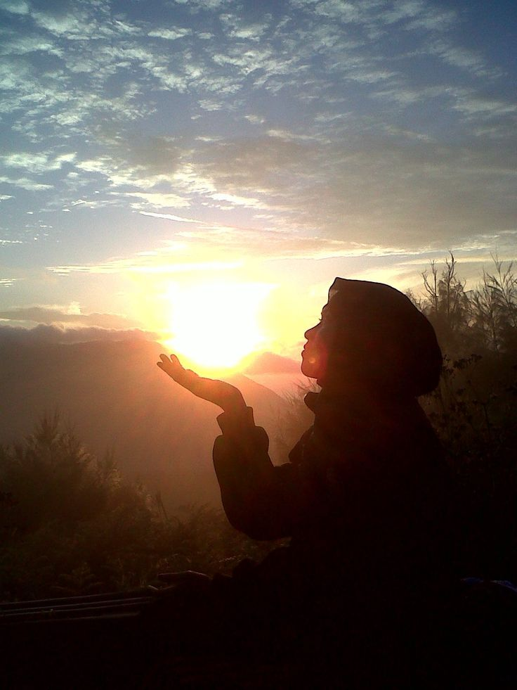 my sun in Bromo Mountain