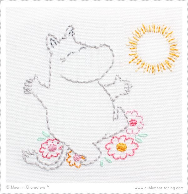 Moomin Embroidery Patterns! | Sublime Stitching