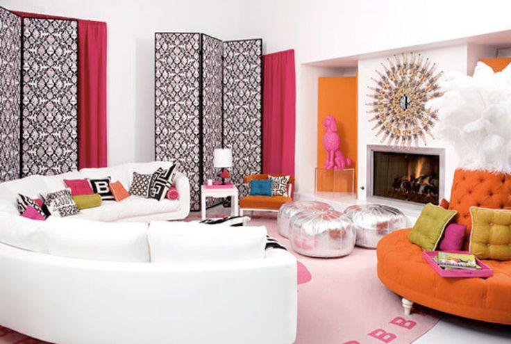 jonathan adler barbie hotel | Real Barbie Dream House, Jonathan Adler's Malibu Barbie Dream House