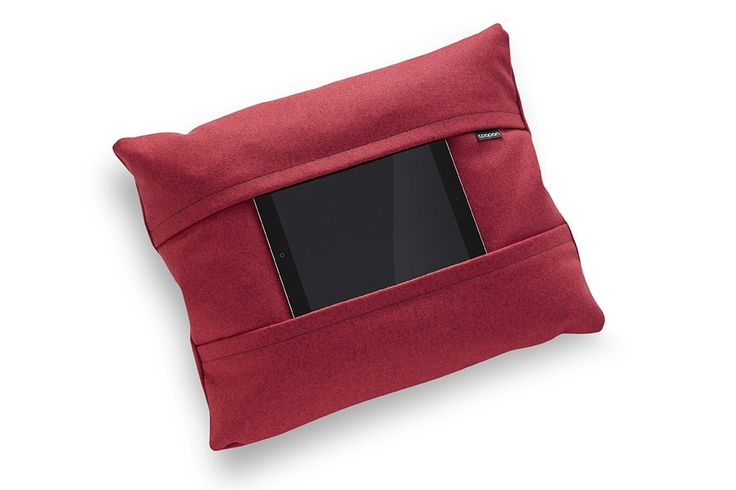 Tablet pillow red