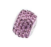 Amore & Baci 23045 pink Swarovski crystal bead