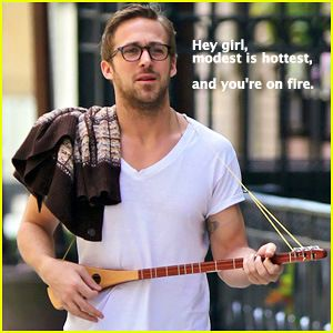 modest is hottest!Hey Christian, Ryan Gosling, Ryangosling, Modest Is Hottest, Hey Girls, Pickup Line, Beautiful People, So Funny, Christian Girls
