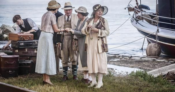 The Durrells - Louisas's relatives from Britain come for a visit Barbara Flynn - Aunt Hermione Jeff Rawle - Geoffrey & Felicity Montagu - Cousin Prue .