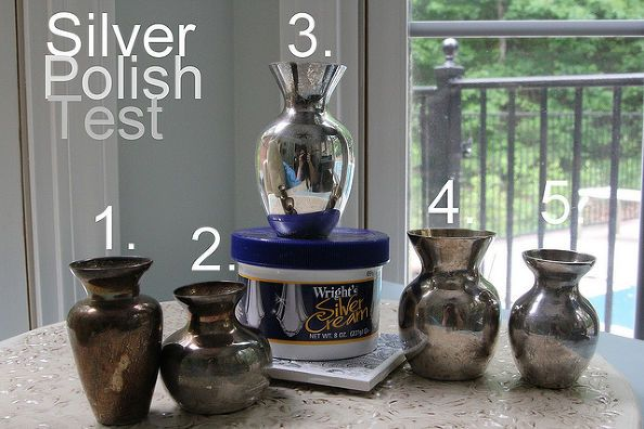 silver polish test pinterest homemade jewelry cleaner recipe vs wright s silver, cleaning tips, We have a winner Wright s did the job much better than any shortcut ever could- try Brite Boy or Britz polish, a rinse of Sodium Carbonate (or Bicarbonate, and HOT water), dry and buff