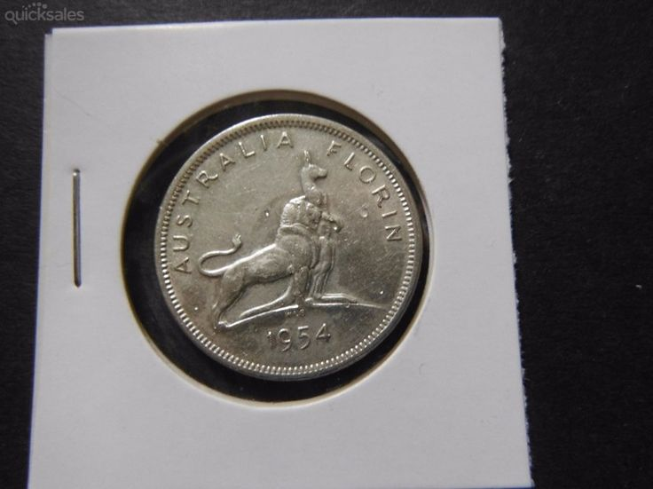 Royal Visit, Commerative  Florin 1954, QE II Great condition by jones101 - $18.00