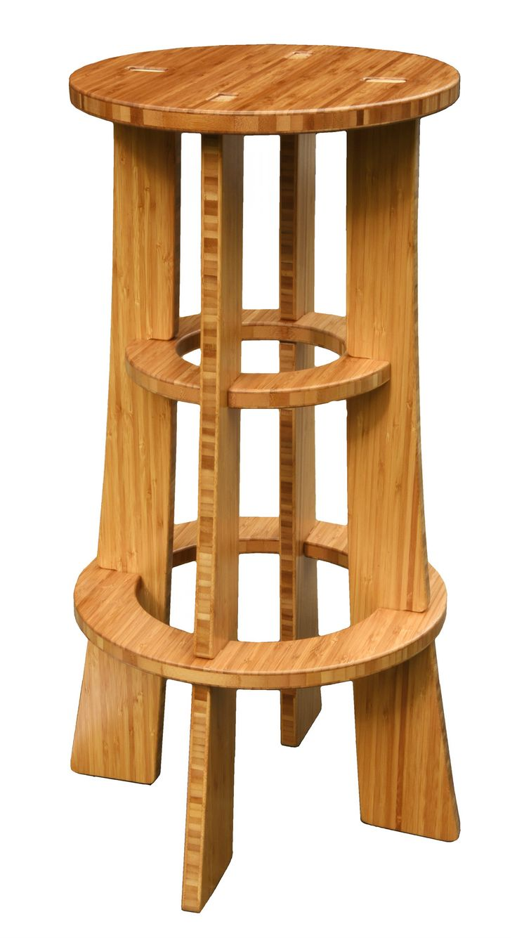 The Maholla Bar Stool by Grassracks. Gorgeous, Sturdy, No Hardware. Meet the most eco-friendly and innovative bar stool in the world. #barstools