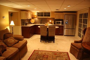 basement apartments | basement in law suite layout traditional basement design by other