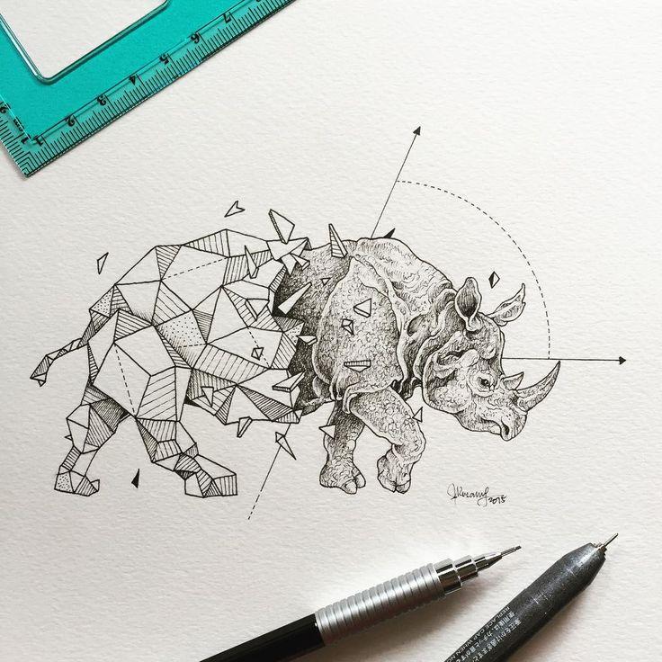 Les Animaux géométriques de Kerby Rosanes (11)