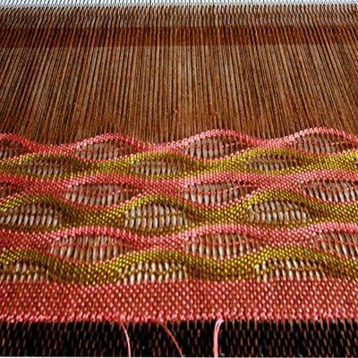 Weaving a Lacy Shawl on the Rigid Heddle Loom