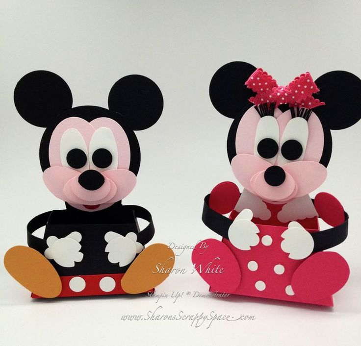 Mickey and Minnie Mouse Tutorial Available  Sharon White