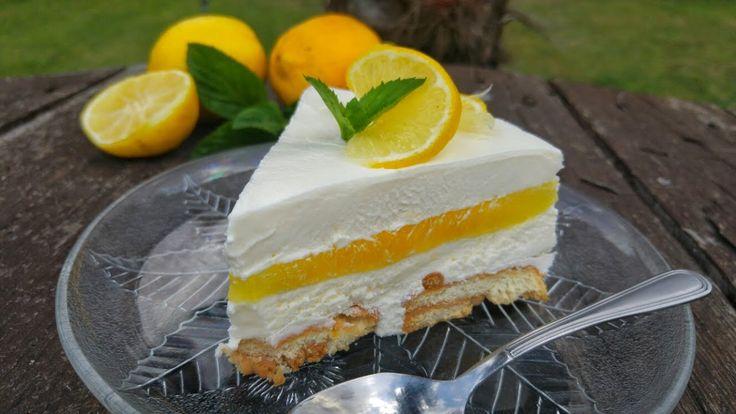 Εύκολο και Δροσερό Γλυκό Ψυγείου!!! - The Best Lemon Pudding Ever!!!
