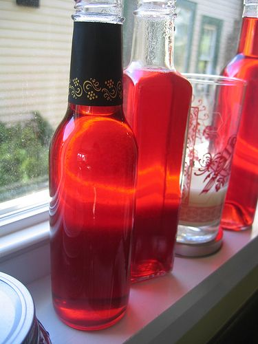 Simple Syrups (raspberry and blackberry), but adaptable to many more