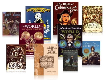 Early American and World History Jr. High Pack - Beautiful Feet Books