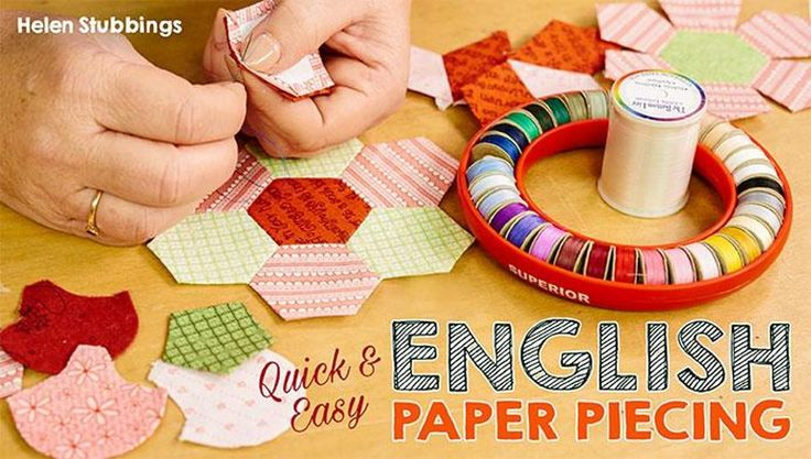 Take a tour through time-saving English paper-piecing techniques, and learn why this portable process has become a quilting craze!