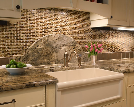 Granite With Backsplash Remodelling Best 137 Best Backsplash Ideasgranite Countertops Images On Pinterest . Inspiration