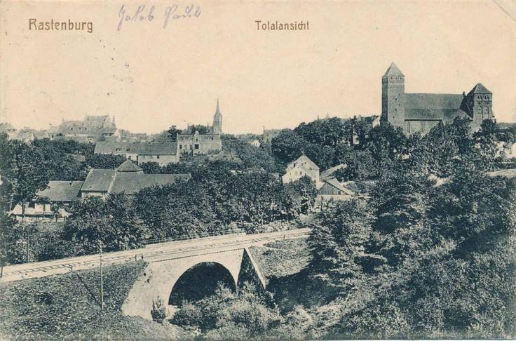 Rastenburg. Totalansicht. 1915.