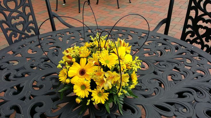 A photo from last week of the centerpieces from the VCU School of Nursing Alumni weekend!