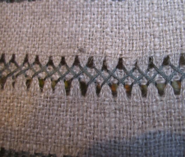 Embroidery Hemstitch. A few simple patterns Part 3 - Fair Masters - handmade, handmade