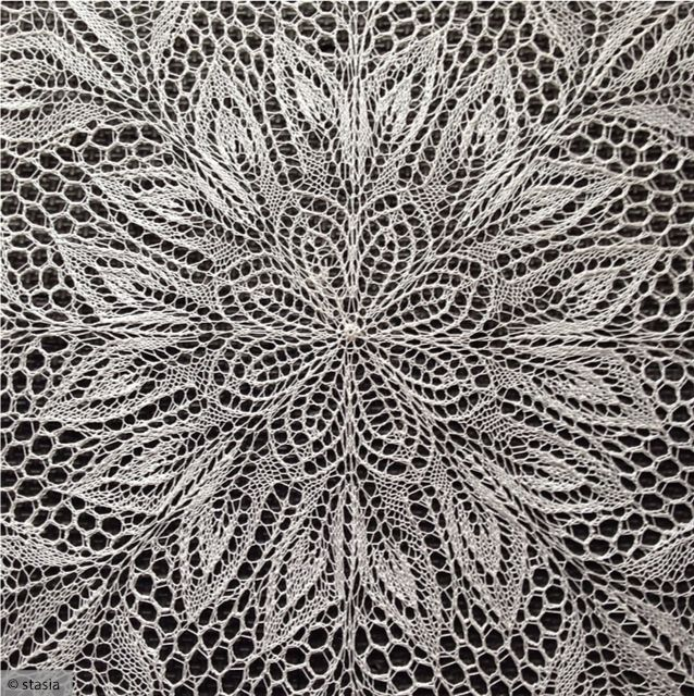 Lace Knitting: Like Making A Paper Snowflake | KnitFreedom -- Herbert Niebling's Lyra is a perfect example of the stunning projects you can make with lace * Lyra on Amazon: http://www.amazon.com/Lyra-Knitted-Pattern-Herbert-Niebling/dp/B00KY3JAA4 * Lyra on Ravelry: http://www.ravelry.com/patterns/library/lyra