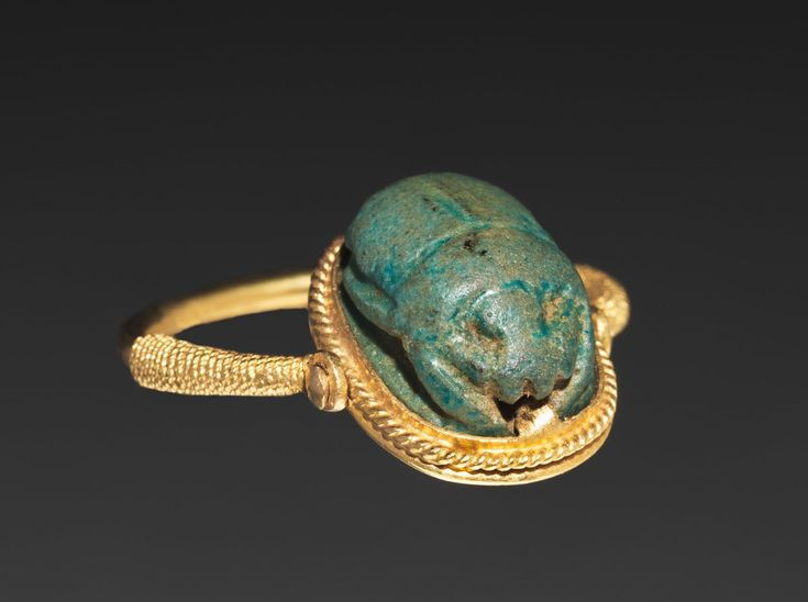 Egyptian Cat Ring Turquoise Eye