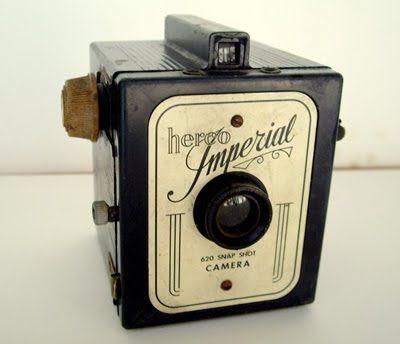 Vintage 30's Herco Imperial Snap Shot Camera: Shots Camera, Vintage Camera, Herco Imperial, Polaroid Camera, 30 S Herco, Antiquevintag Camera, Imperial Snap, Bike Camera, Vintage 30 S