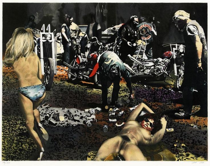 John E. Franzen,1940 Sweden, Hell's Angels Of California.