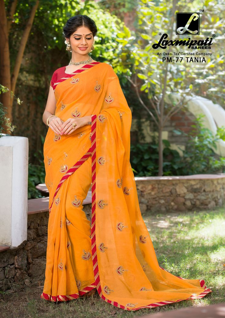 Buy Our Laxmipati Orange Cotton Super Net #Embroidery_Saree with Bhagalpuri Red Blouse along with Lace Border for your special occasion. #Catalogue- #SABRANG #DesignNumber- SABRANG 77 #Price - ₹ 3158.00  #Colorfulsarees #Cashondelivery #Orderonline #Freedelivery #Freeshipping #Freehomedelivery #Manufacturer #Retailer #Ecommerce #Onlineservices #Festival #Worldwidedelivery #Shopnow #Happyshopping #India #SABRANG0217 #Oekotex #Couture #Ethnicwear #Laxmipatisarees