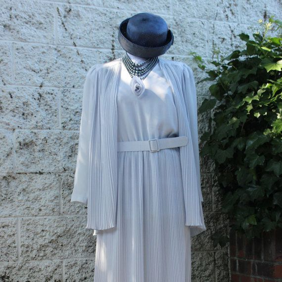 60's Light Violet Jacket and Dress by LennysVintageVault on Etsy
